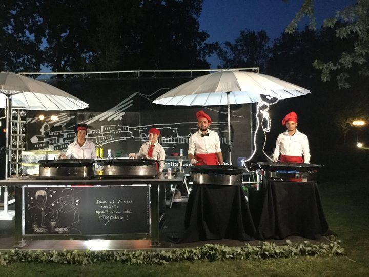 Chef di Paella a domicilio