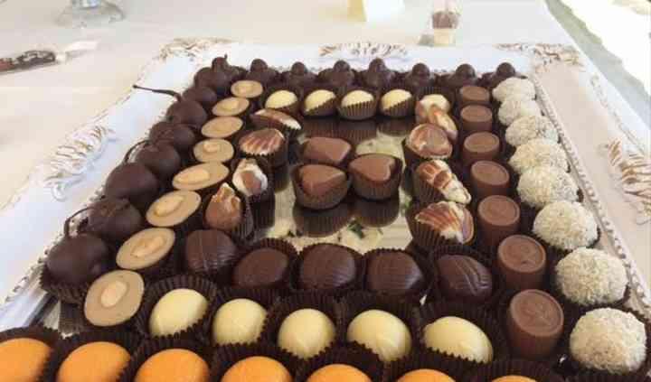 Particolari sweet table