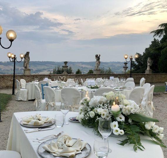 Wedding in Villa