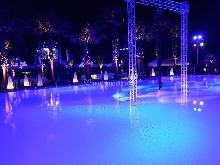 Luxury party