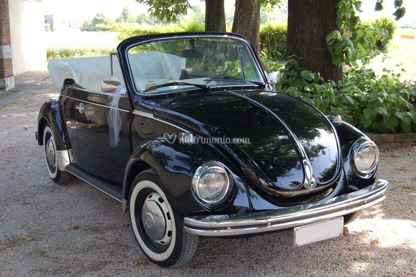 Volkswagen Maggiolone cabrio Nero del 1974