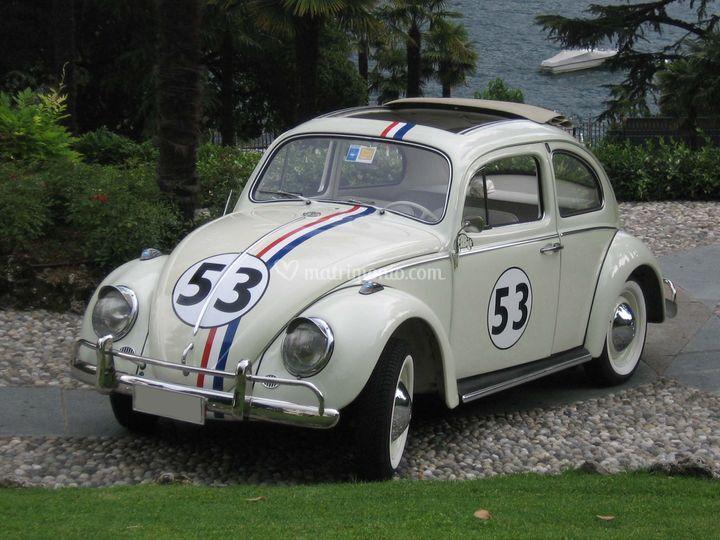 Volkswagen Maggiolino del 1963 replica HERBIE - il maggiolino tutto matto