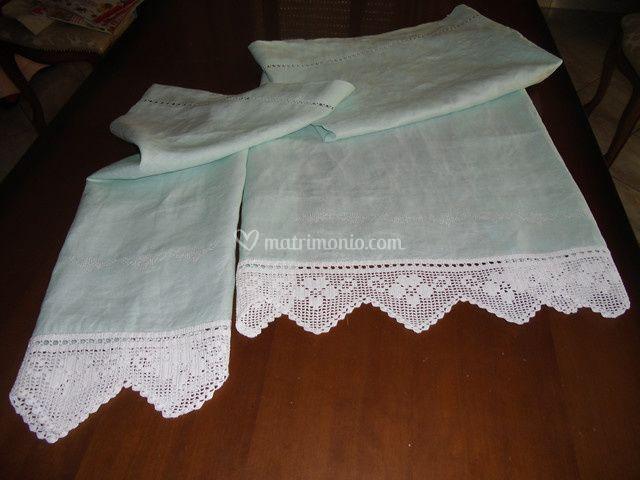Set asciugamani bagno-Corredo