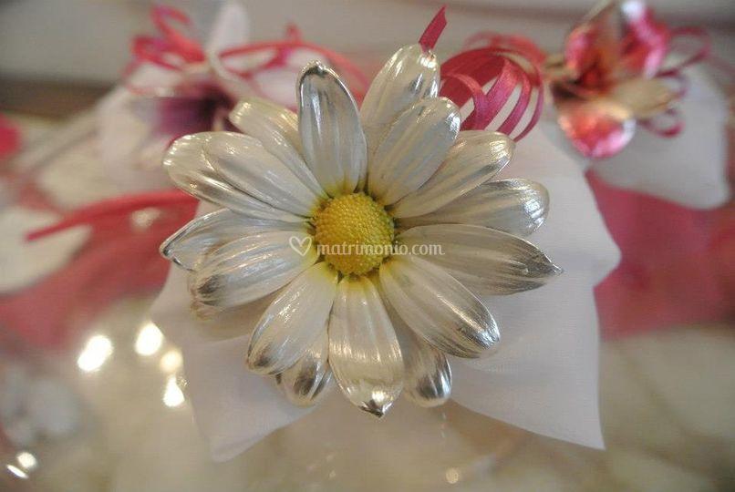 Fiore vero elettroformato