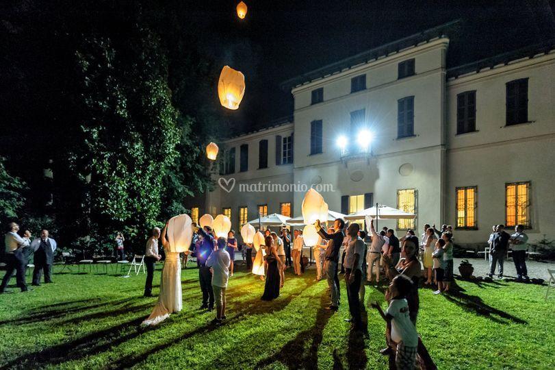 Alla sera...... di Villa Massari