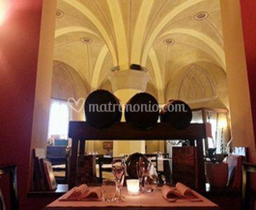Nicchie e soffitto ristorante