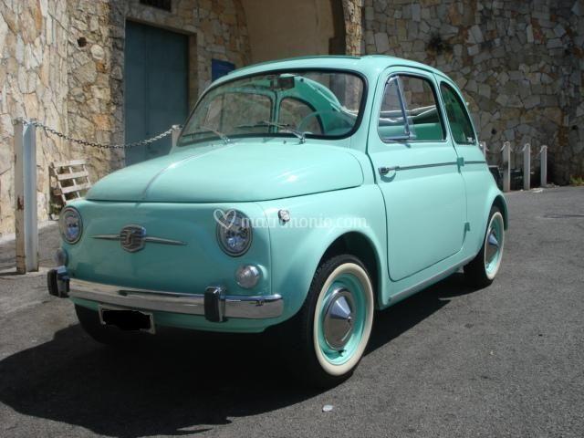 Fiat 500 D front