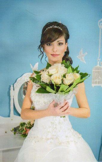 Trucco per catologo sposa