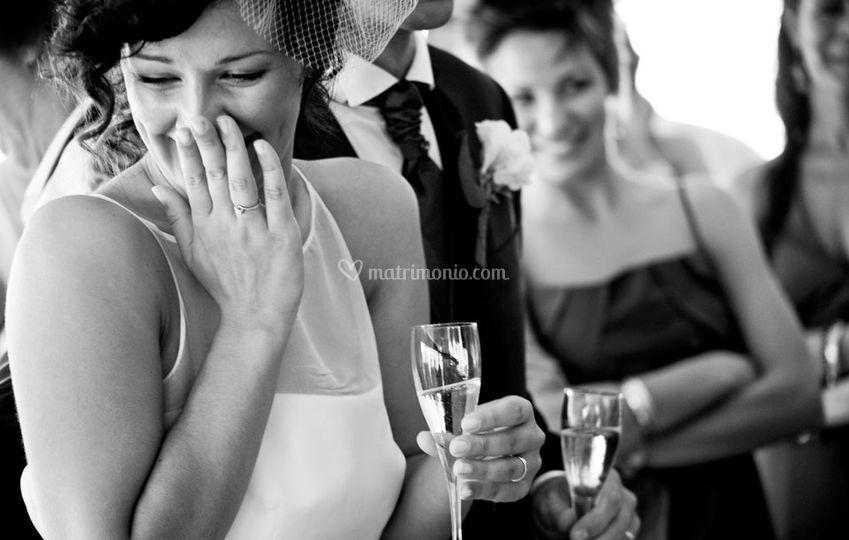 Emozioni della sposa