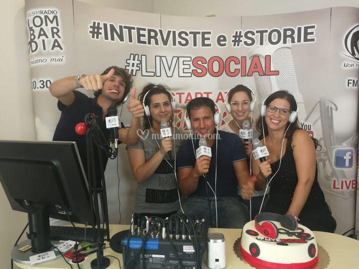 Gola e Vanità a Radio Lombardi