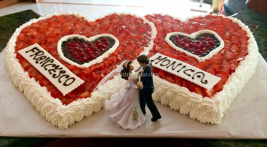 Torta matrimonio
