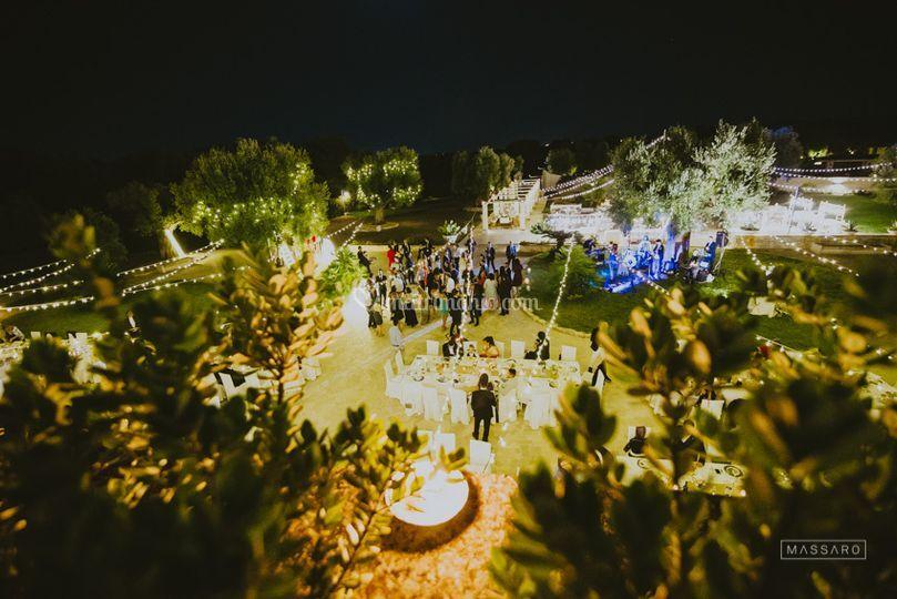 Matrimonio nella corte