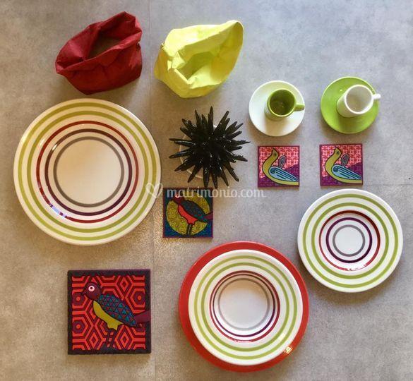 Esplosione di colori a tavola
