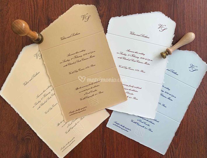 Carta Amalfi 4 colori