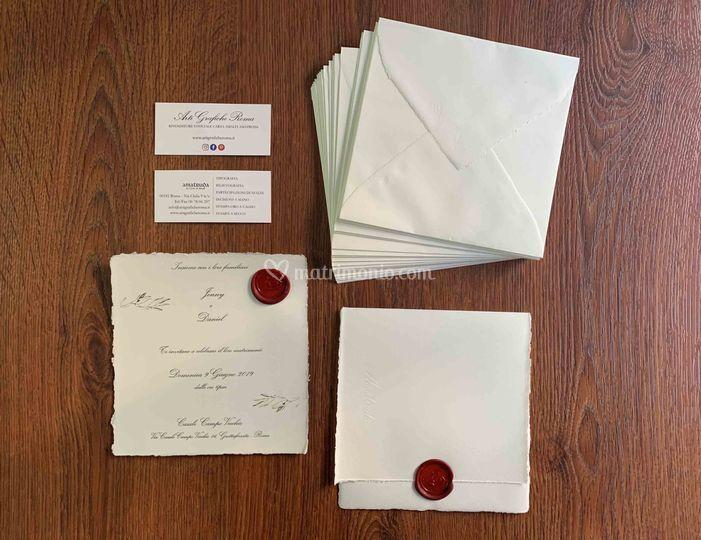 Partecipazioni nozzeamalfi red