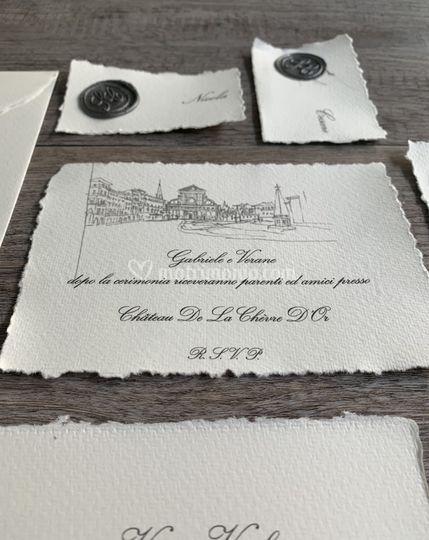 Invito in Carta Amalfi