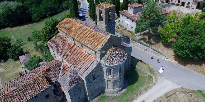 Matrimonio chiesa di Romena