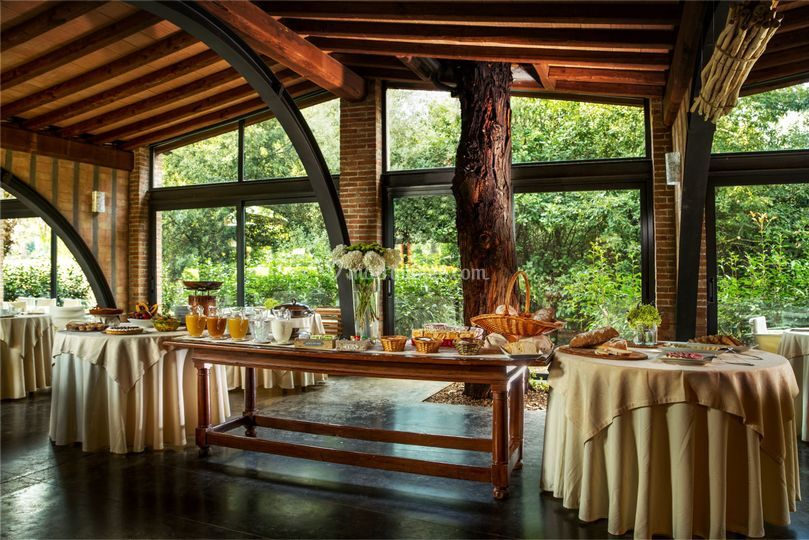 Buffet in Salone Eucaliptus