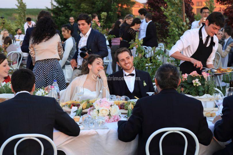 Matrimonio all'aperto di Da Paolo Catering