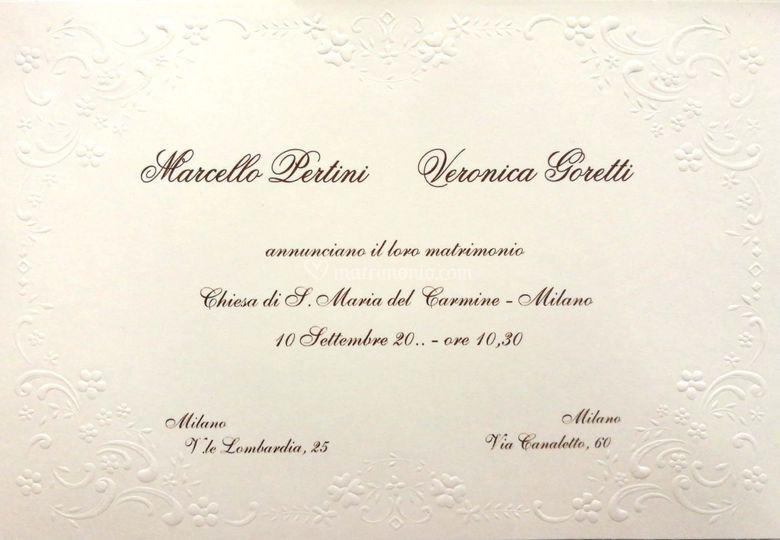Partecipazioni Matrimonio Bologna.Cantelli Srl