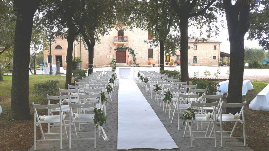 Matrimonio civile in tenuta