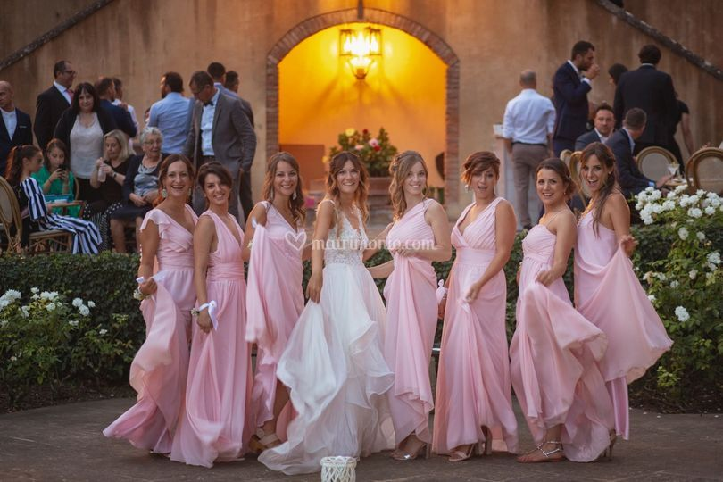 Wedding in pink