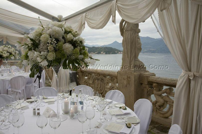 Ricevimento matrimonio sul Lago di Como