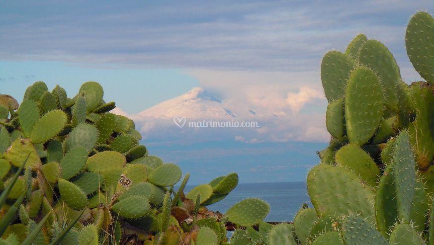 Veduta sull'Etna