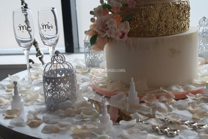 Tavolo wedding cake