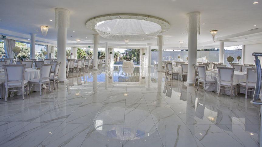 Restyling Sala Cristallo