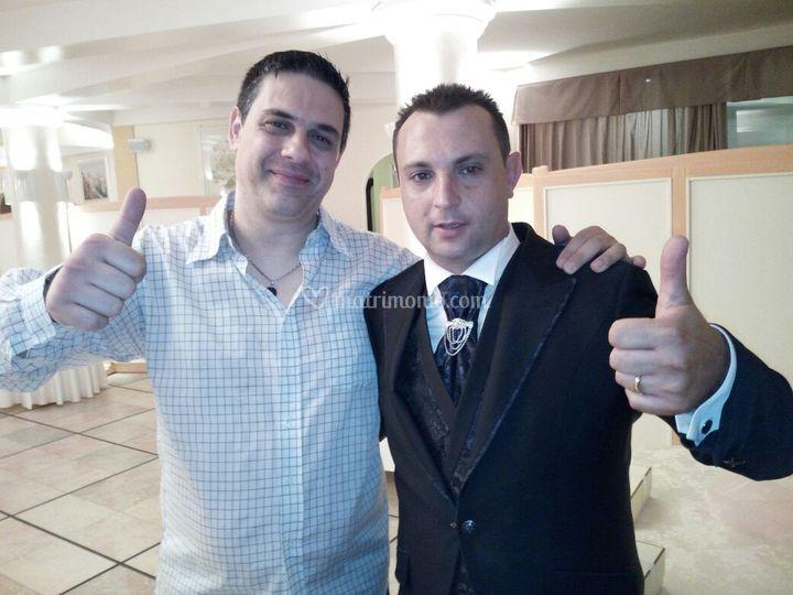 Foto con lo sposo...
