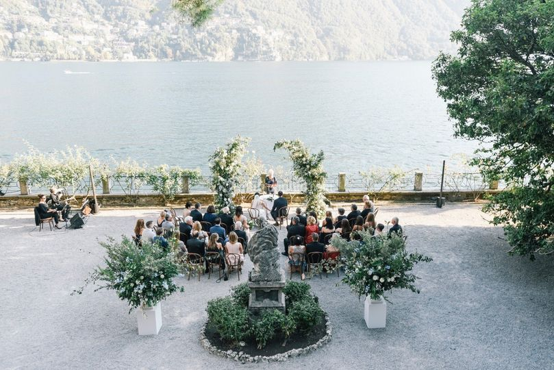 Matrimonio sul lago