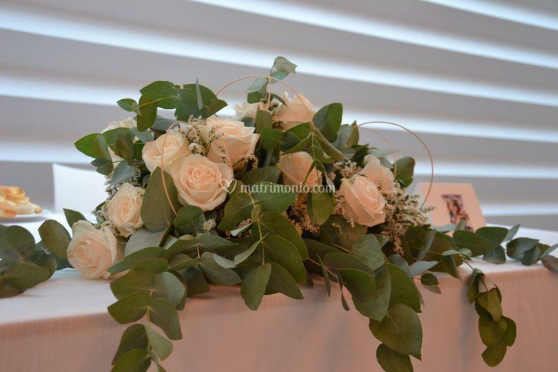 Rose ed eucalipto