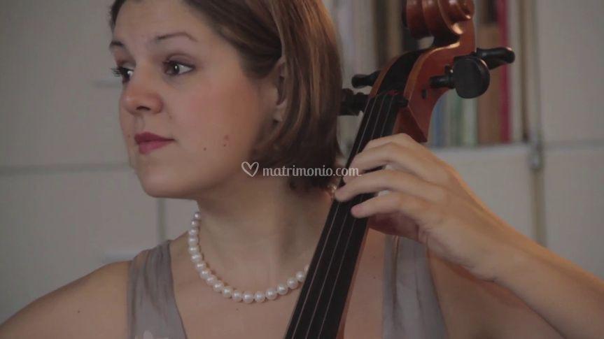 Martina al violoncello