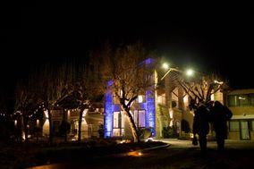 Villa Garibalda by night