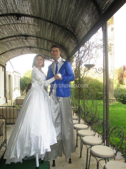 Sposi trampolieri