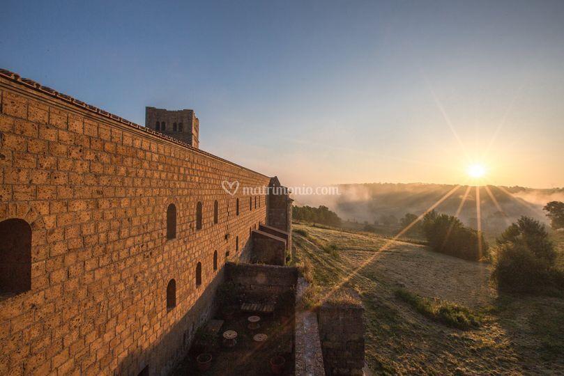L'alba a San Giusto