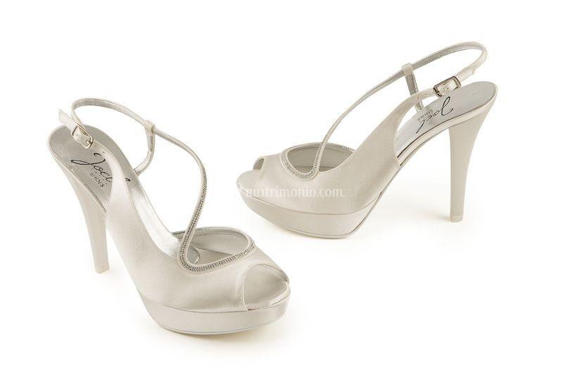Preziosi sandali gioiello