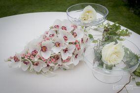 Forsitia Bouquet Sposa in Carta