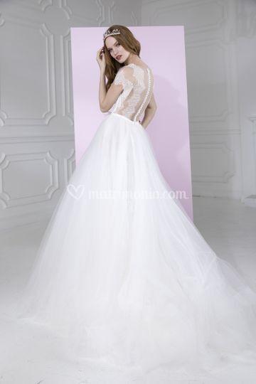 34e70603c121 Abito sposa Viviè Valentini di Il Punto Sposi