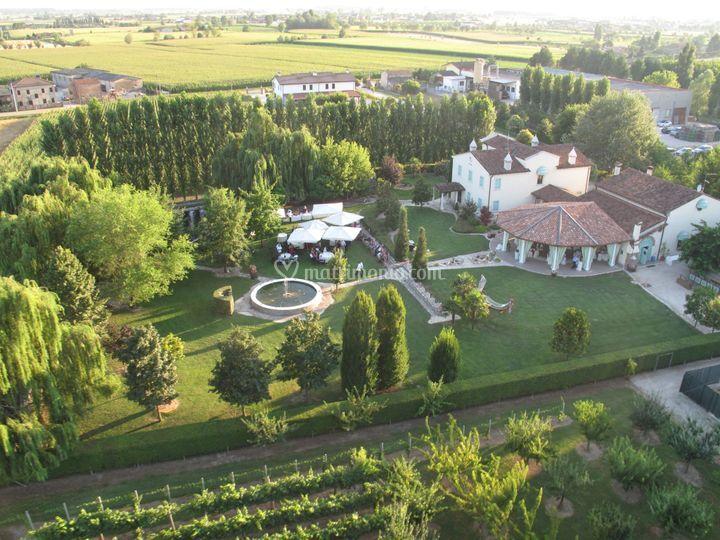 Parco e villa