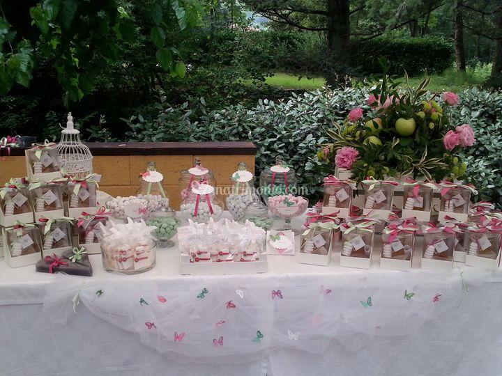 Buffet di dolcetti