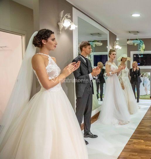 Defilé moda sposi
