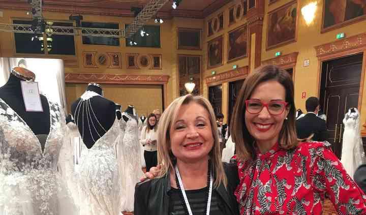 Con Alessandra Rinaudo