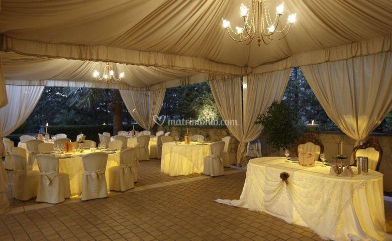 Allestimento nozze in Gazebo
