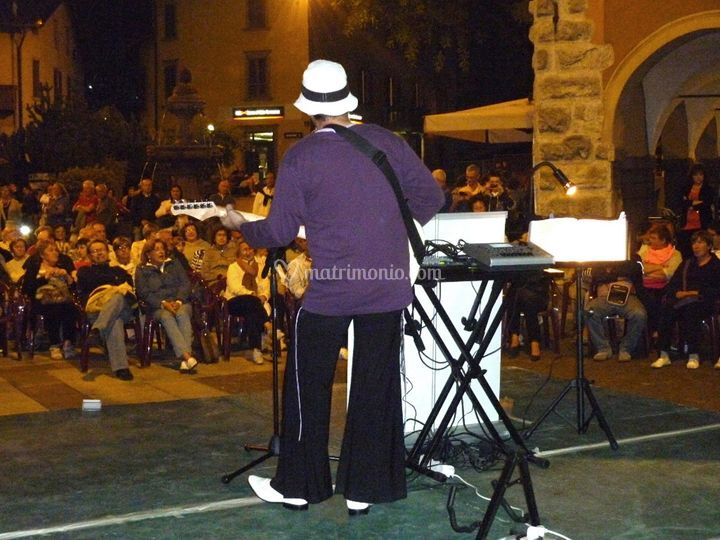Celentano Tribute in piazza
