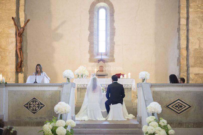Allestimrnto chiesa