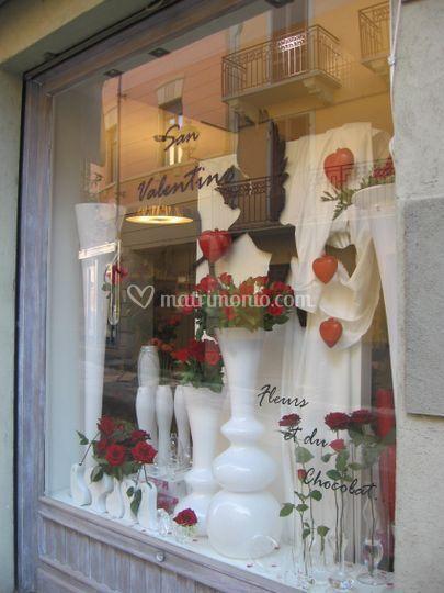 Vetrina di San Valentino