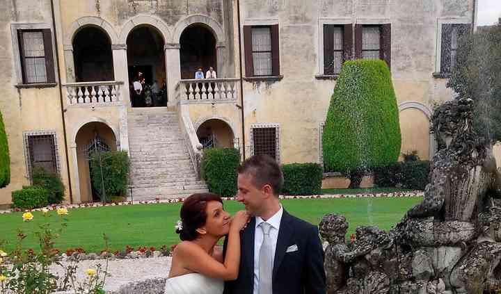 Sposi a villa Godi Malinverni