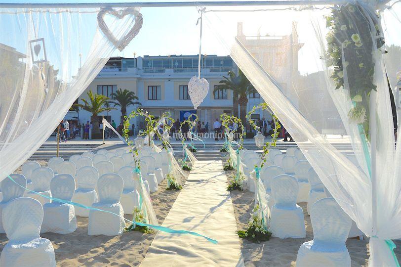 Matrimonio Spiaggia Grottammare : Attico sul mare